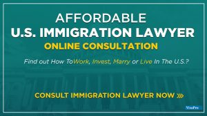 Affordable U.S. Immigration Attorney Online Consultation.