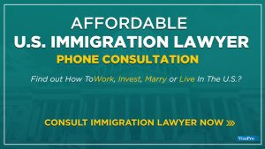Inexpensive U.S. Immigration Attorney Phone Consultation.