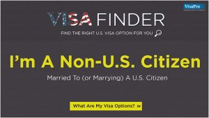 Foreign National Getting Married To A US Citizen