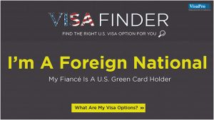 US Visa Options For Foreign Fiancé Of Green Card Holder