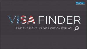 Check Visa Finder For Right U.S. Visa Option